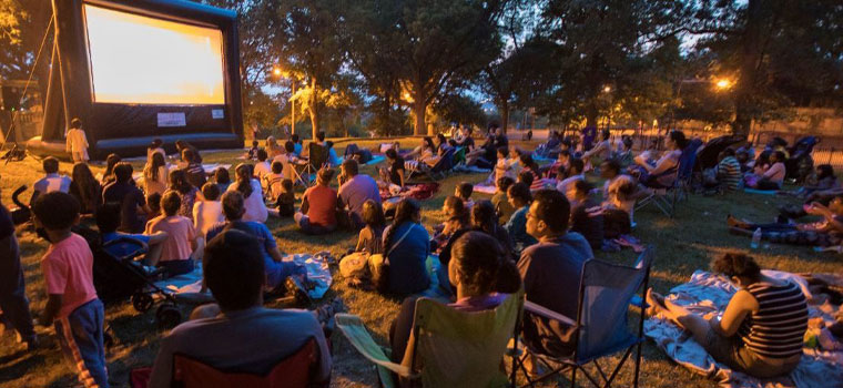 Family films to be screened outdoors at Laredo parks