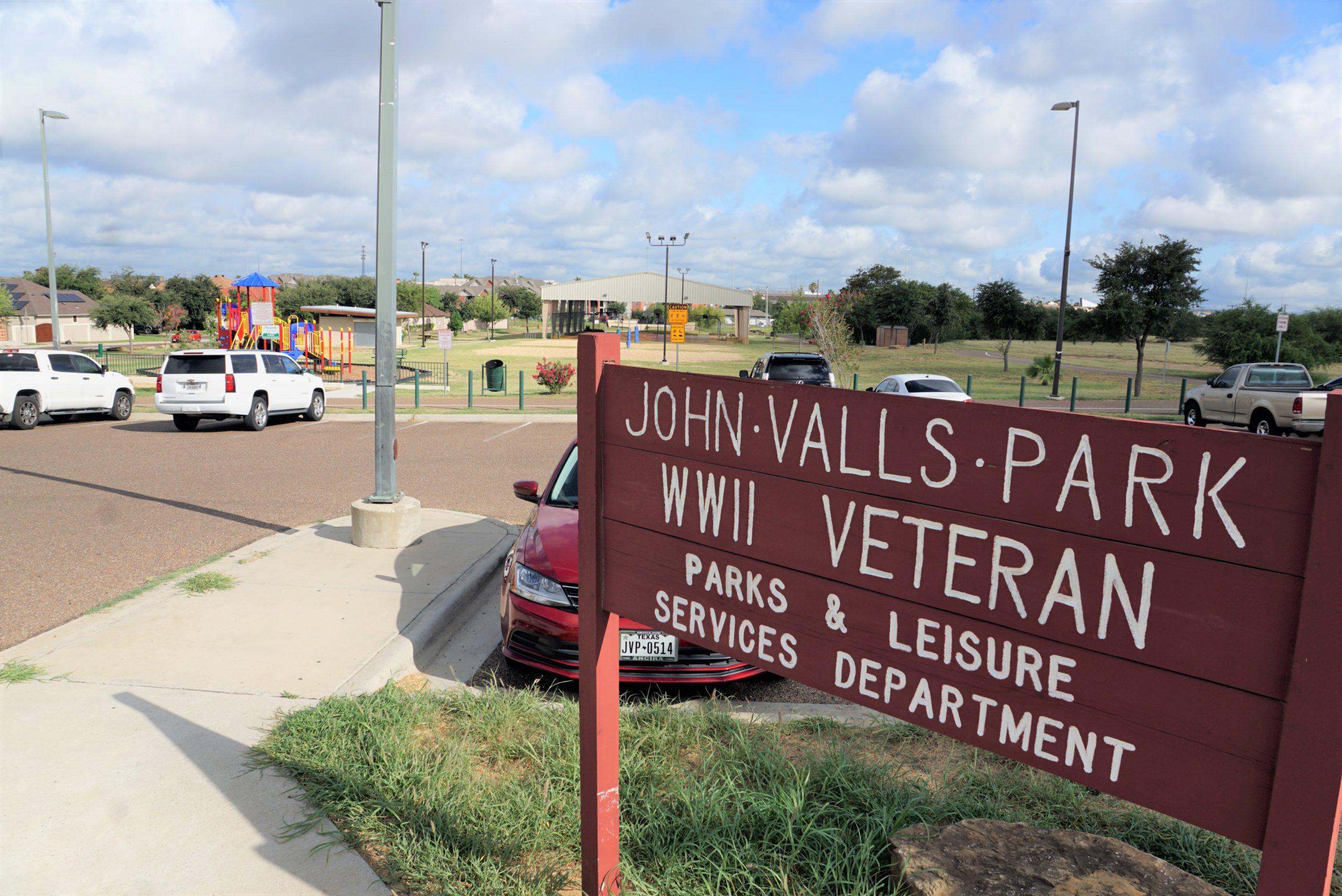 John Valls Park WWII Veteran @ North Central