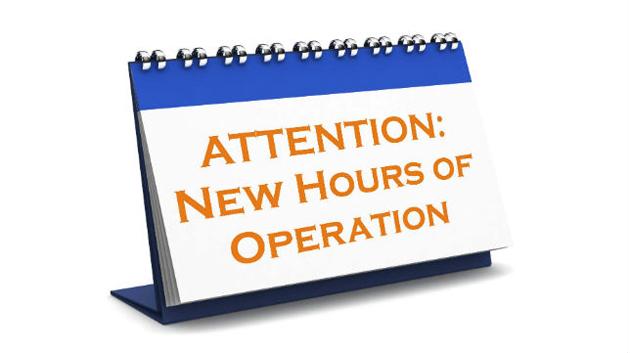 El Eden Recreation Centers expands hours of Operation.
