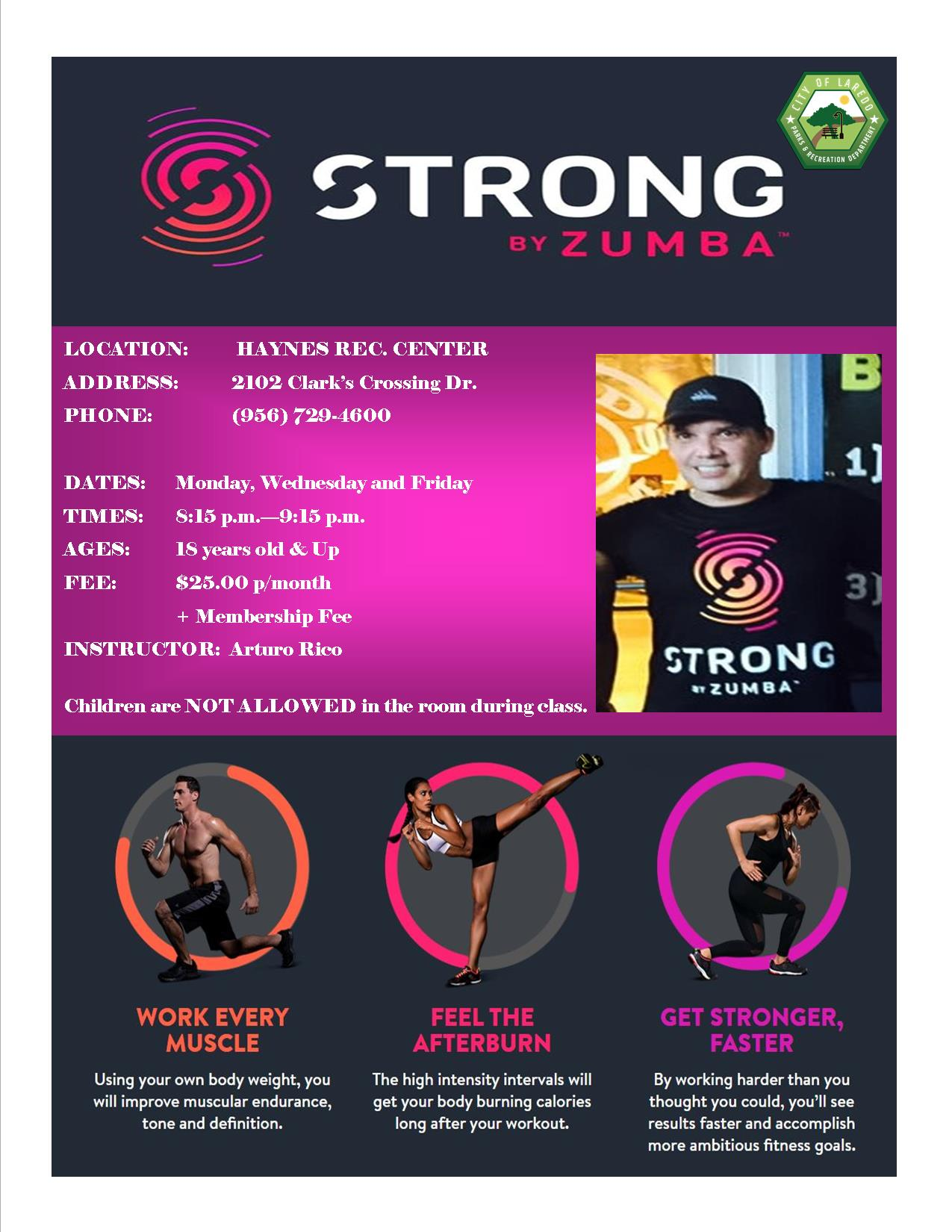 Stronger By Zumba