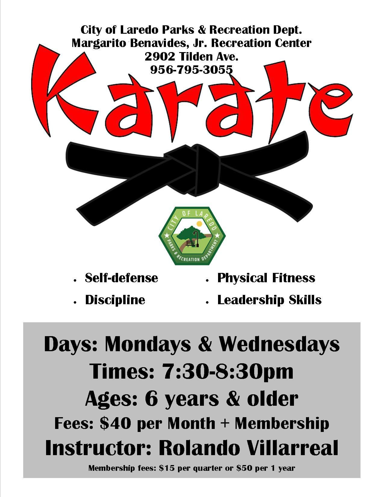 Karate Class Flyer1
