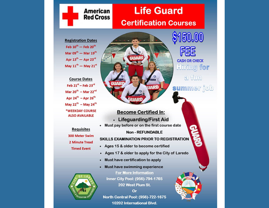 Life Guard Certification Courses!