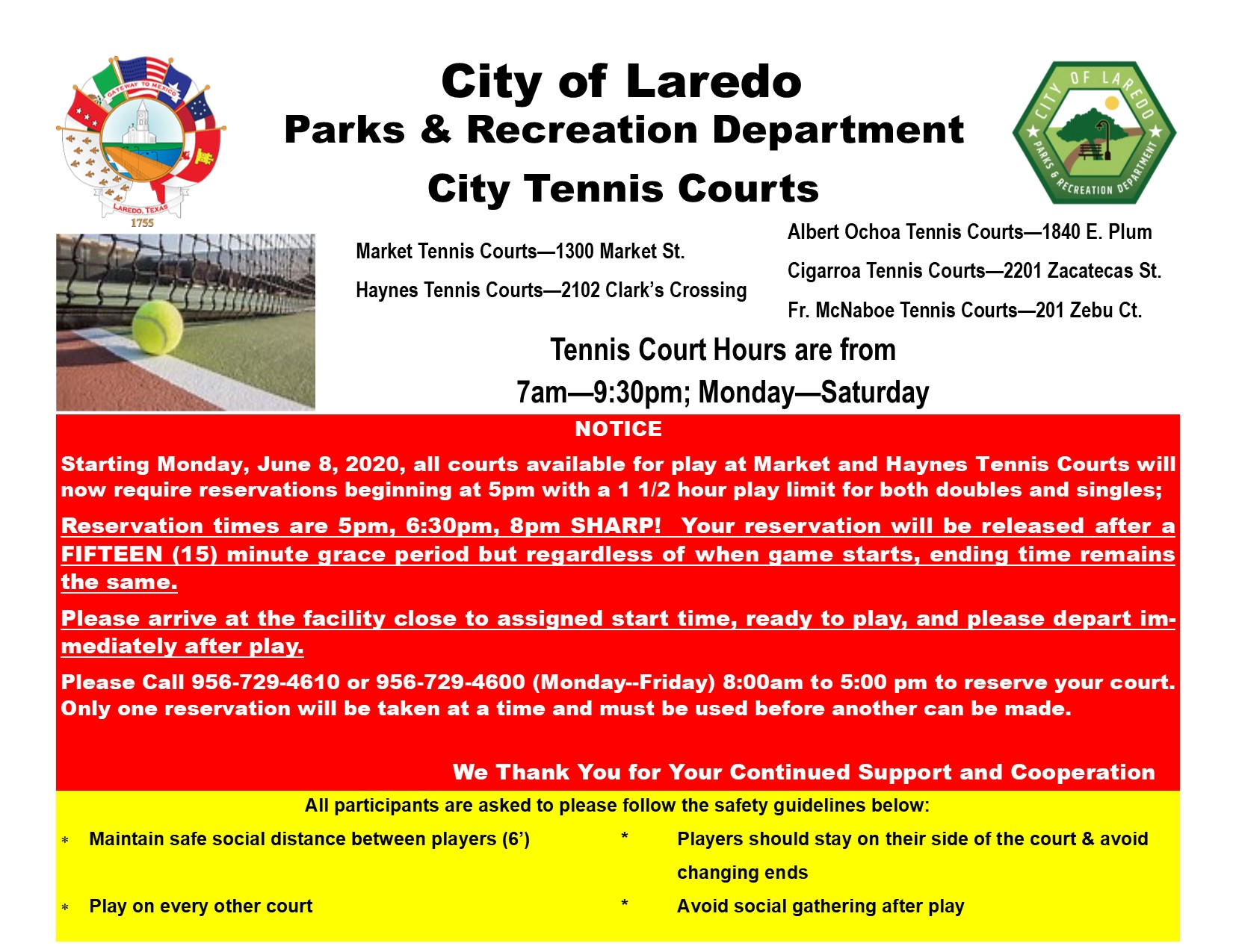 City Tennis Courts