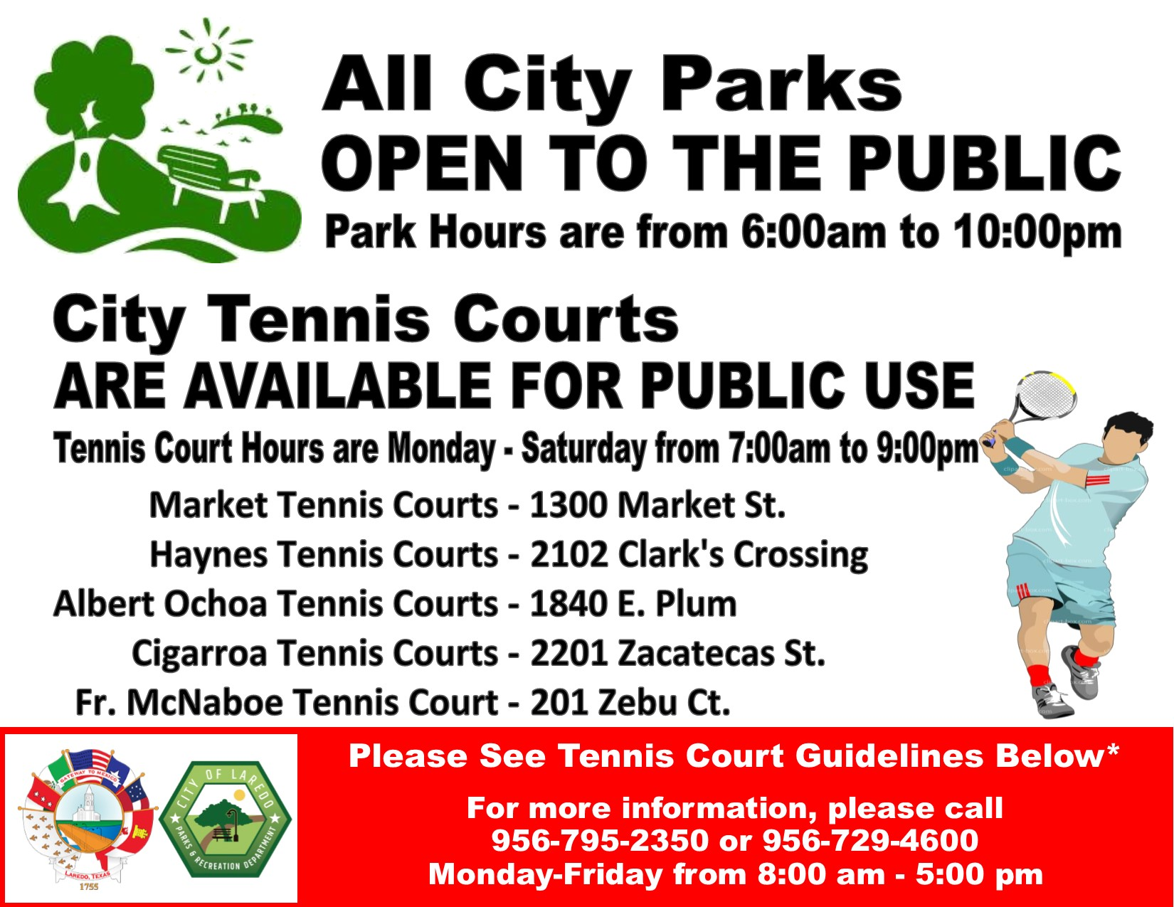 Tennis Courts Available for reservation