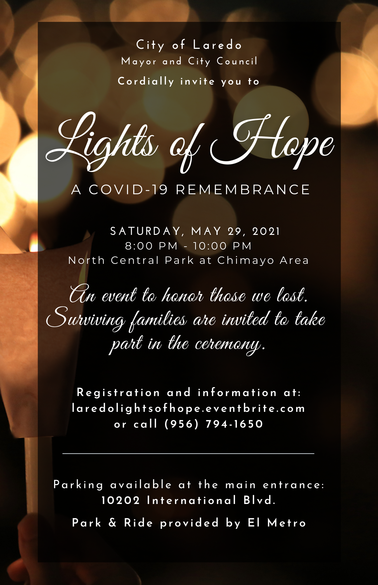 Lights of Hope.....A COVID -19 Remembrance