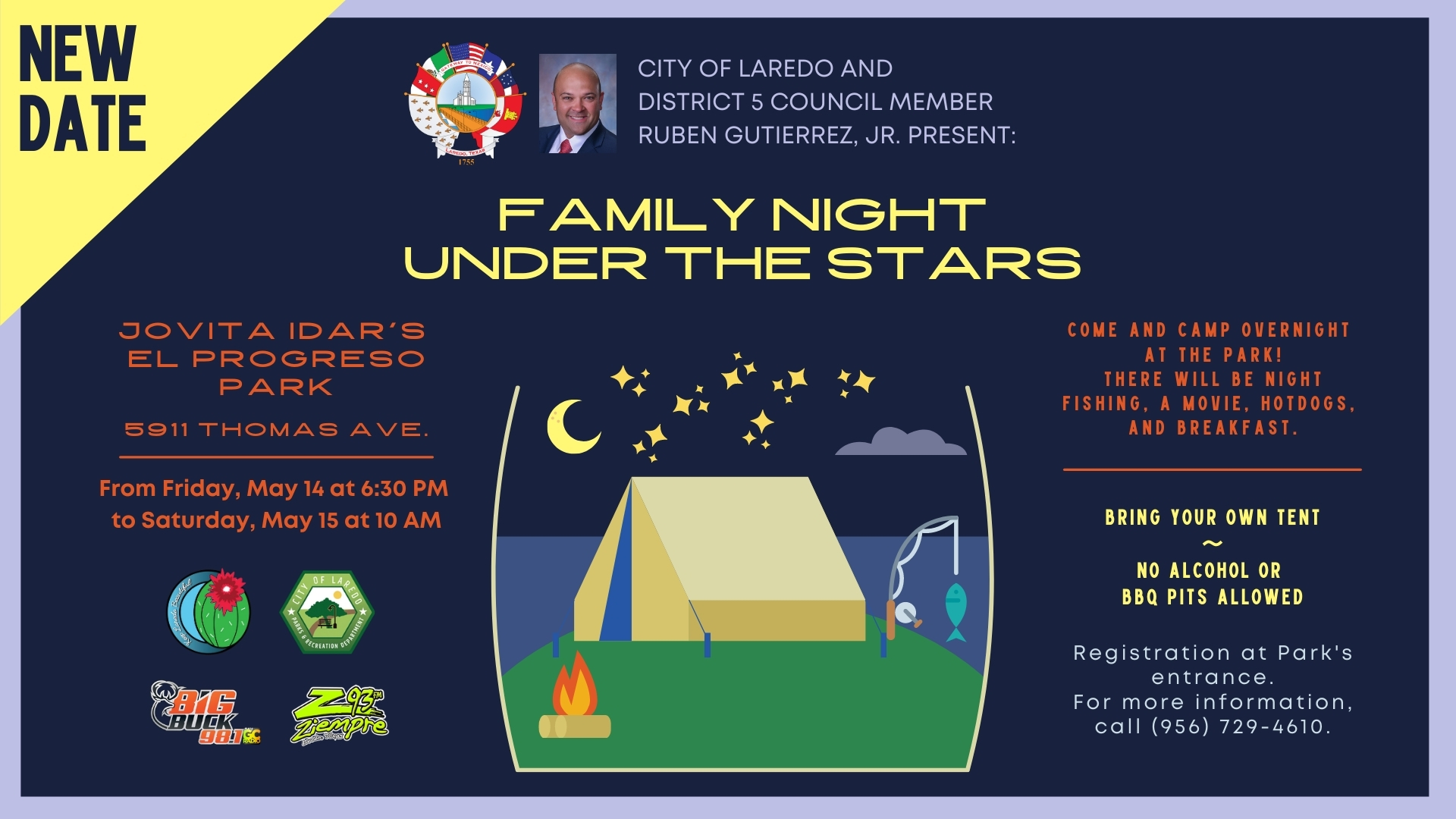 Family Night Under the Stars