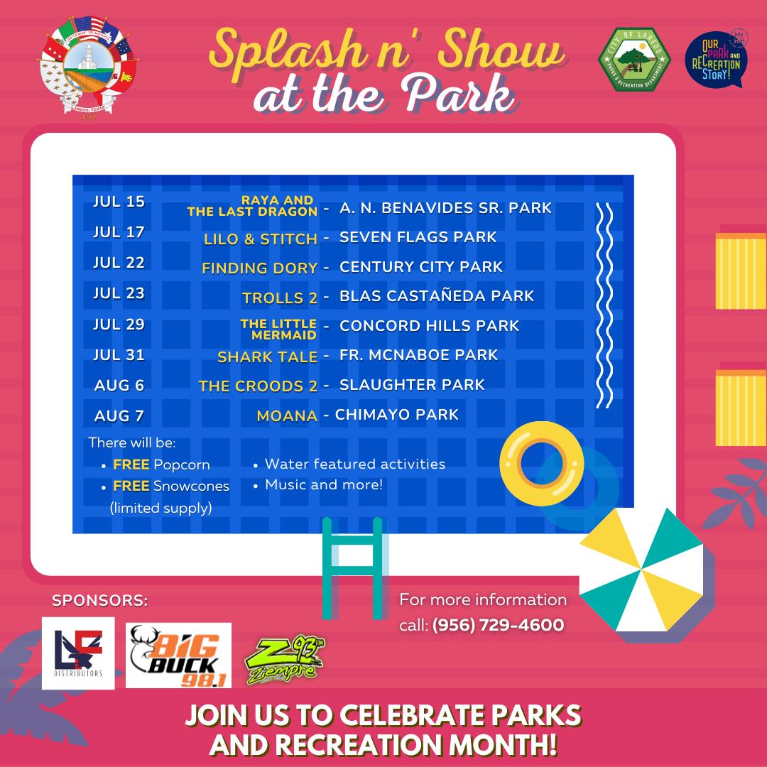 Splash n' Show at the Park